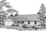 Country House Plan Front Image of House - 007D-0081 | House Plans and More