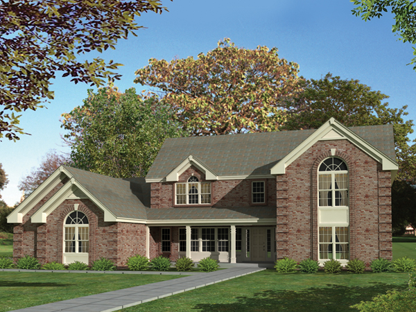Barclay heights classic home plan 007d 0082 house plans for Barclay home design