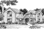 Country House Plan Front Image of House - 007D-0091 | House Plans and More