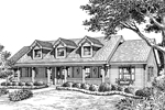 Cape Cod and New England Plan Front Image of House - 007D-0092 | House Plans and More