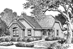 Ranch House Plan Front Image of House - 007D-0106 | House Plans and More