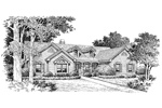 Ranch House Plan Front Image of House - 007D-0113 | House Plans and More