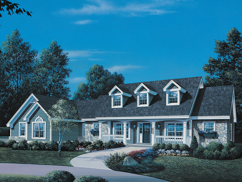New england ranch house plans for New england country homes floor plans