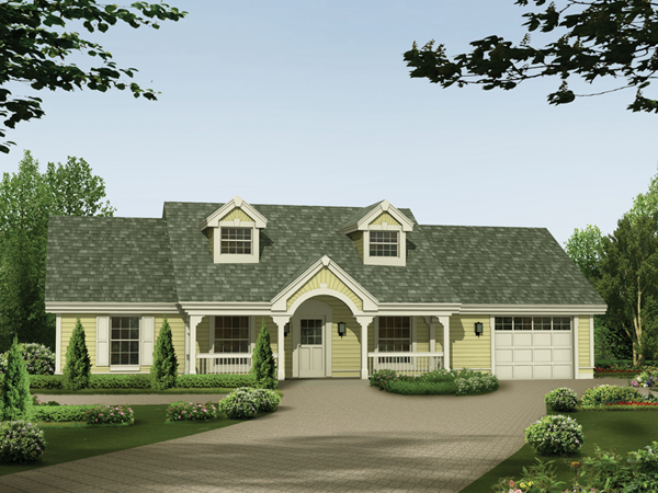 Briarview arts and crafts home plan 007d 0126 house for One story handicap accessible house plans