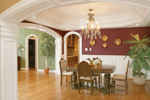 Greek Revival Home Plan Dining Room Photo 02 - 007D-0132 | House Plans and More