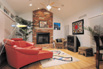 Traditional House Plan Fireplace Photo 01 - 007D-0132 | House Plans and More
