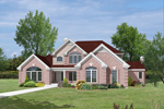 Luxury House Plan Front Image - 007D-0132 | House Plans and More