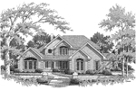 Greek Revival Home Plan Front Image of House - 007D-0132 | House Plans and More
