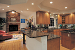 Luxury House Plan Kitchen Photo 01 - 007D-0132 | House Plans and More