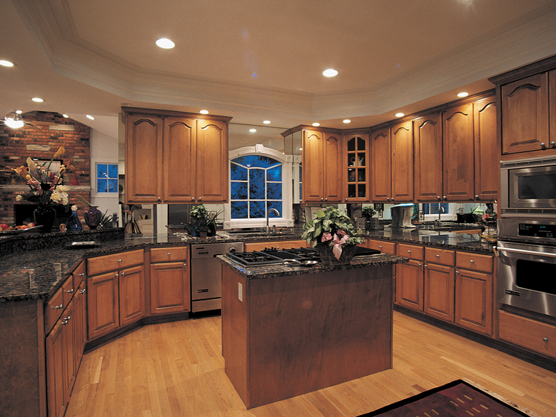 Greek Revival Home Plan Kitchen Photo 02 007D-0132