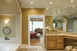 Greek Revival Home Plan Master Bathroom Photo 01 - 007D-0132 | House Plans and More