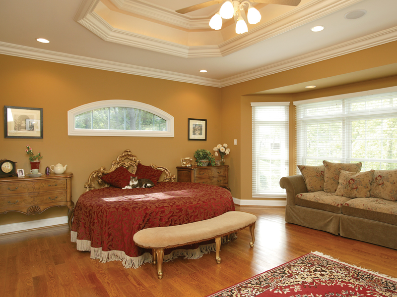 Traditional House Plan Master Bedroom Photo 01 007D-0132