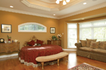 Greek Revival Home Plan Master Bedroom Photo 01 - 007D-0132 | House Plans and More