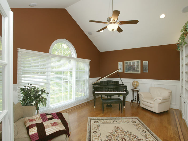 Greek Revival Home Plan Music Room Photo 01 007D-0132