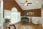 Greek Revival Home Plan Music Room Photo 01 - 007D-0132 | House Plans and More