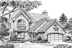 Traditional House Plan Front Image of House - 007D-0138 | House Plans and More