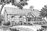 Ranch House Plan Front Image of House - 007D-0139 | House Plans and More