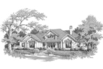 Luxury House Plan Front Image of House - 007D-0155 | House Plans and More