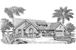 Country House Plan Front Image of House - 007D-0157 | House Plans and More
