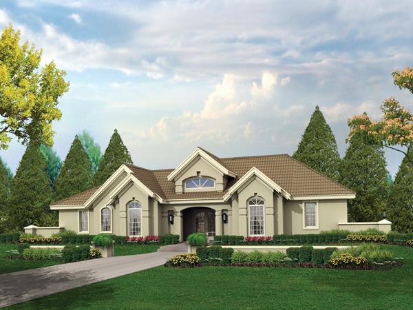 Pomona Park Southwestern Home Plan 007d 0166 House Plans