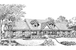 Ranch House Plan Front Image of House - 007D-0168 | House Plans and More