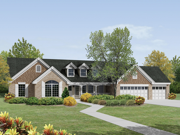 St laurent country ranch home plan 007d 0174 house for Front street home designs
