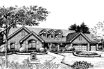Country House Plan Front Image of House - 007D-0174 | House Plans and More