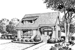 Ranch House Plan Front Image of House - 007D-0175 | House Plans and More