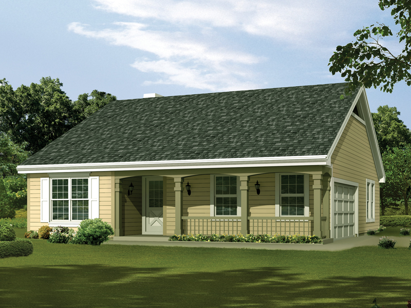 Silverpine cottage home plan 007d 0176 house plans and more for Simple cost effective house plans