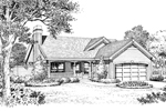 Traditional House Plan Front Image of House - 007D-0178 | House Plans and More