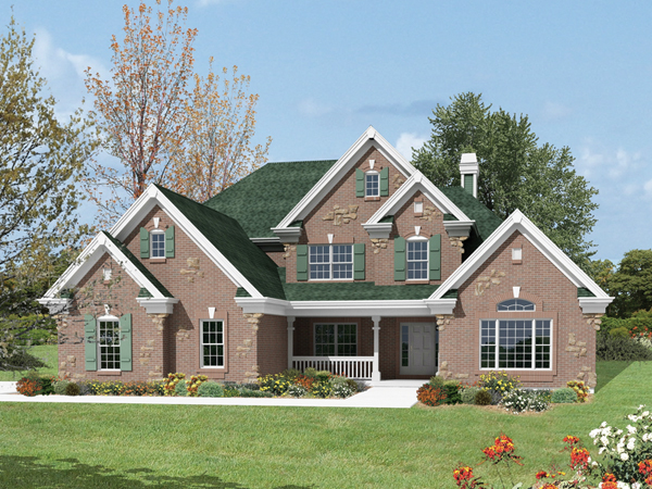 Stratford Manor European Home Plan 007d 0183 House Plans