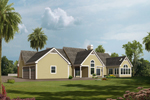 Country French House Plan Color Image of House - 007D-0186 | House Plans and More