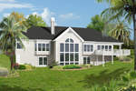 Sunbelt Home Plan Color Image of House - 007D-0187 | House Plans and More