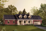 Classic Cape Cod/ New England Home With Wide Front Porch