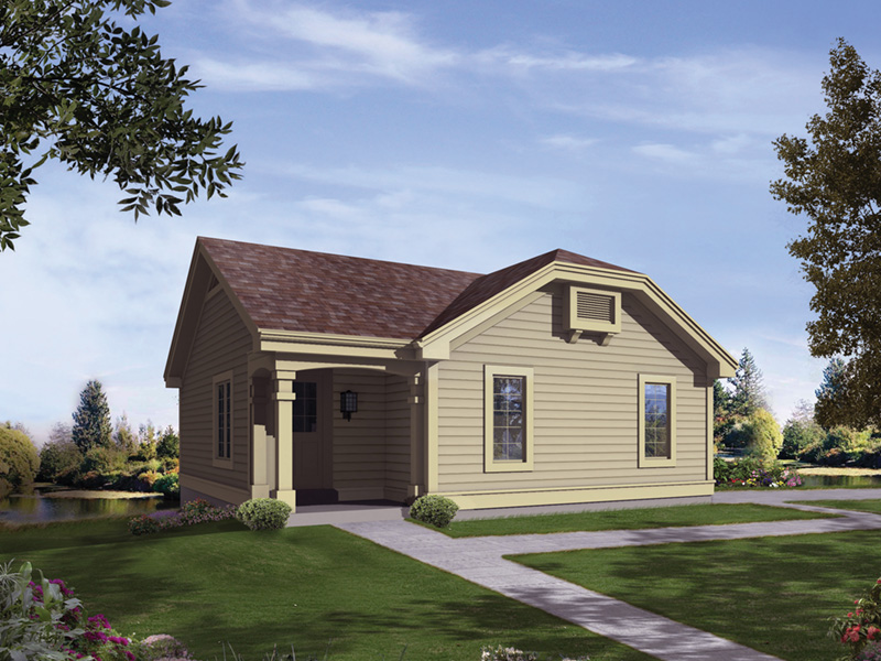 Simple, Affordable Lake Home