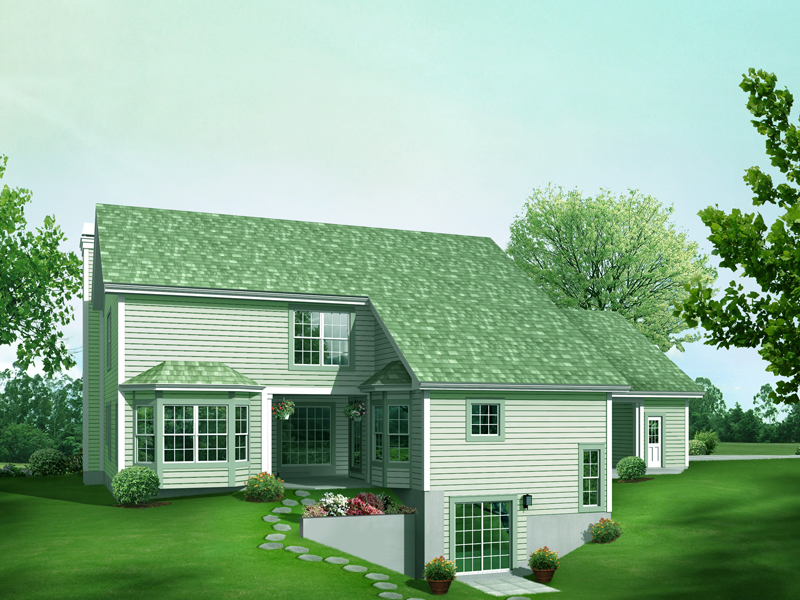 Contemporary House Plan Color Image of House 007D-0211