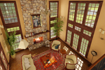 English Tudor House Plan Great Room Photo 01 - 007D-0215 | House Plans and More