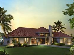 sunbelt style green home design