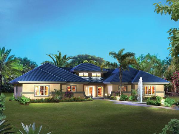 Orlando Palms Florida Duplex Plan 007d 0228 House Plans