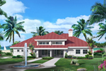 Southwestern House Plan Front of Home - 007D-0229 | House Plans and More