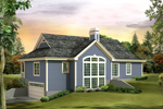 Traditional House Plan Rear Photo of House - 007D-0236 | House Plans and More