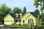 Traditional House Plan Front of Home - 007D-0239 | House Plans and More
