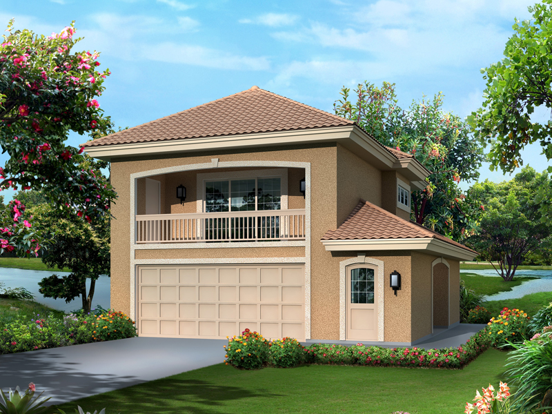 Sunbelt Home Plan Front of Home - 007D-0242 | House Plans and More