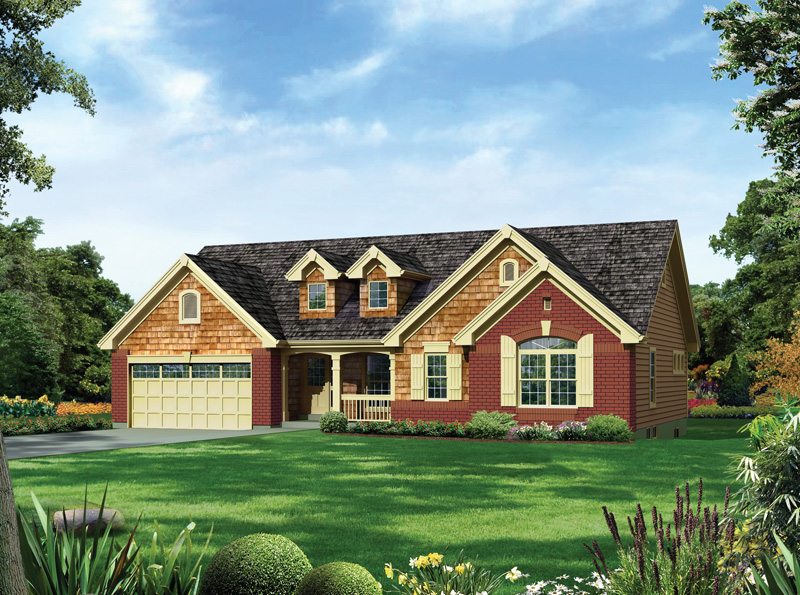 Traditional House Plan Front of Home - 007D-0249 | House Plans and More