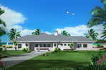 Waterfront House Plan Front of Home - 007D-0251 | House Plans and More
