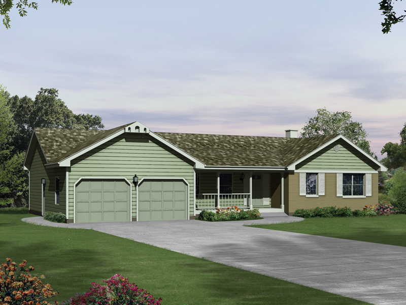 Whitefield Country Ranch Home Plan 008D 0006 House Plans