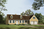 Classic Colonial Design With Dormers