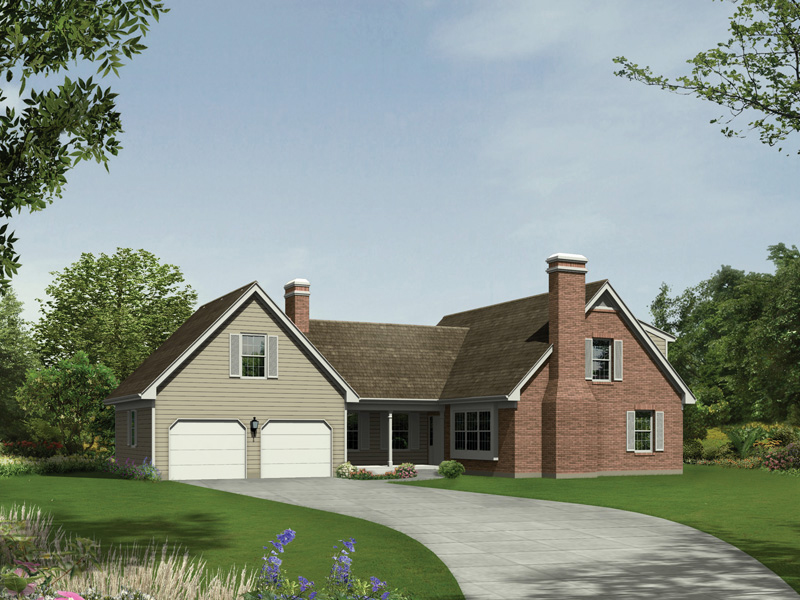 Country House Plan Front of Home - 008D-0015 | House Plans and More
