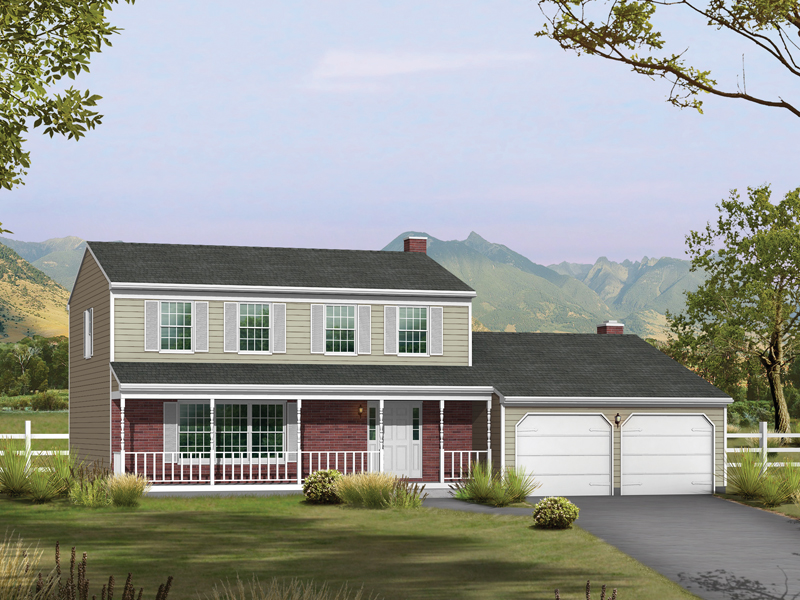 Favorable Features Enhance This Country Style Home