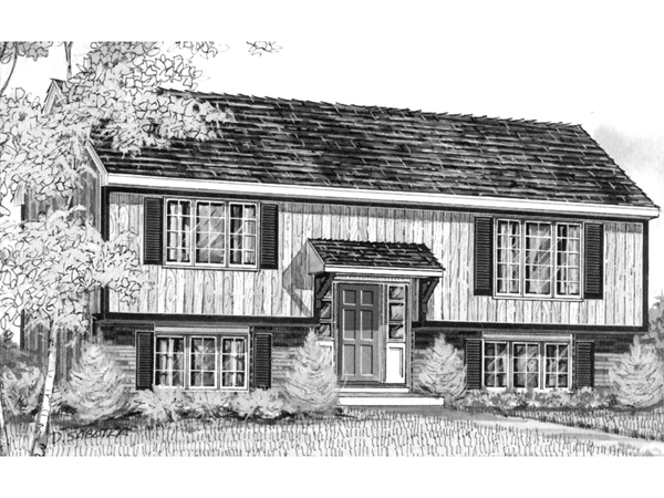 Roseville Raised Ranch Home Plan 008d 0022 House Plans
